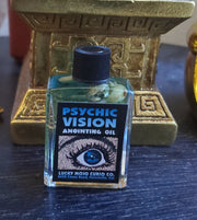 "#LuckyMojoCurioCo ""Psychic Vision"" Anointing / Conjure Oil #GreatDeal"