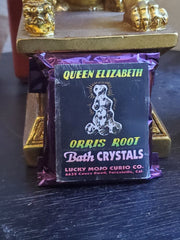 "LuckyMojoCurioCo ""Queen Elizabeth Orris Roots"" Bath Crystals #Great Deal #BathCrystal #SpiritBath #CleansingRituals #RitualMagick"