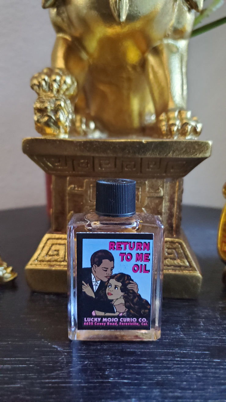 "LuckyMojoCurioCo ""Return To Me Oil"" Anointing / Conjure Oil #Great Deal #LuckyMojoCurioCo #LuckyMojo #EffectiveOils #BlackMagick"
