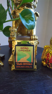 "LuckyMojoCurioCo ""Road Opener"" Bath Crystals #Great Deal #BathCrystal #SpiritBath #CleansingRituals #RitualMagick #ChanceMagick"