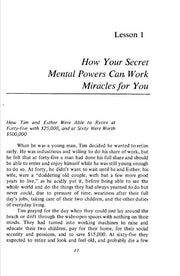 Secret Mental Powers - Miracle of Mind Magick Frank R Young **Instant Download!!**