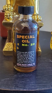 "LuckyMojoCurioCo ""Special Oil No. 20"" Anointing / Conjure Oil #Great Deal #LuckyMojoCurioCo #LuckyMojo #EffectiveOils #ProtectionOil"
