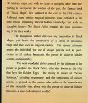 The Black Pullet: Science of Magical Talisman Paperback #InstantDownload