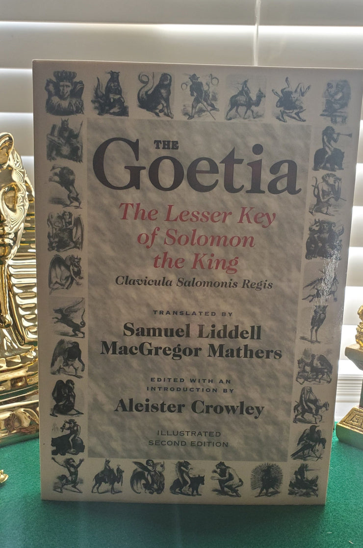 The Goetia: The Lesser Key of Solomon The King Clavicula Salomonis Regis #Magick #AleisterCrowley #Goetia #HighMagick #SpiritCommunications
