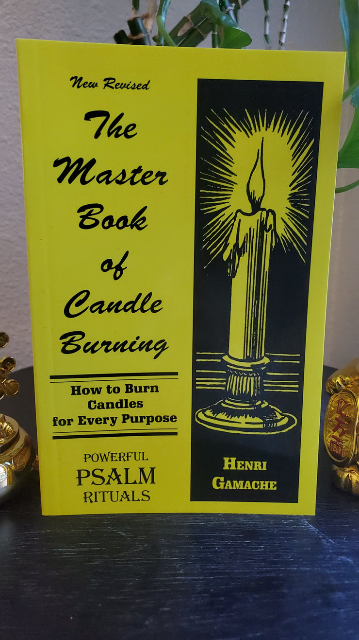 The Master Book of Candle Burning - 1985 #MustHave #Hoodoo By Henry Gamache #HoodBestSeller