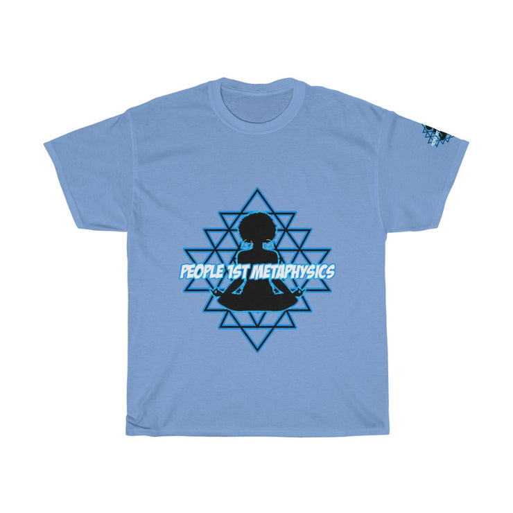 People1stMetaphysics Cosmic Light Heavy Cotton Tee #PeopleFirst #Apparel #OccultTees #ChakraAlignment