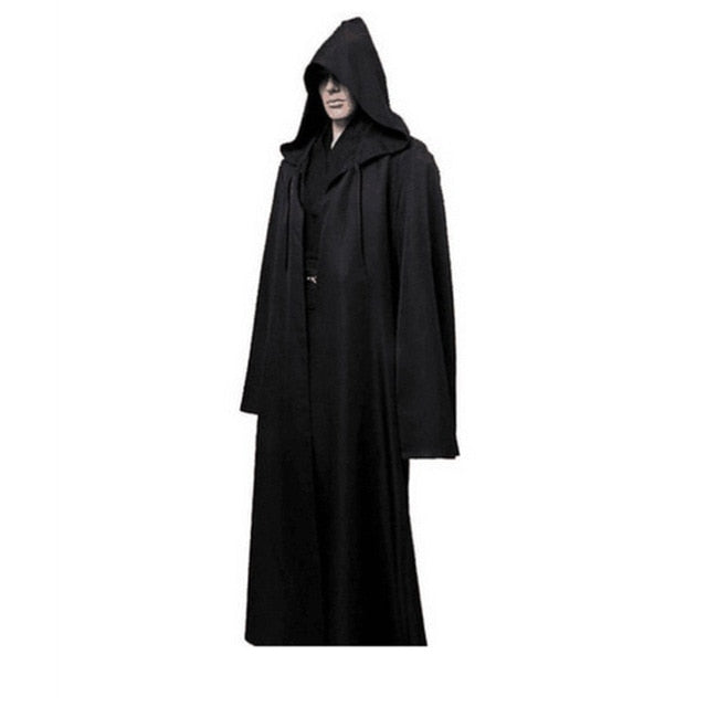 Occult Ceremonial Long Robe With Hood Variant 2