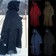Occult Ceremonial Long Robe With Hood Variant 3