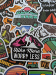 Outdoor Enthusiast Theme Sticker Pack