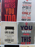 Motivational Quote Sticker Pack