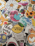 Flowers & Sunshine Sticker Pack