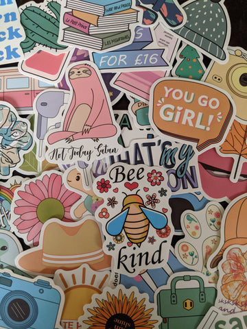Bee Kind Girly Sticker Pack