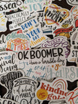 Good Times Sayings Sticker Pack