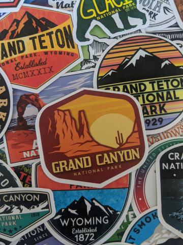 National Parks Sticker Pack