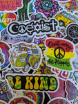 Hippie Vibes Sticker Pack