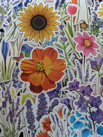 Flower Sticker Pack