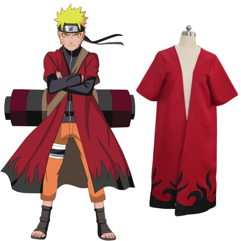 Cosplay Naruto <br> Mode Ermite