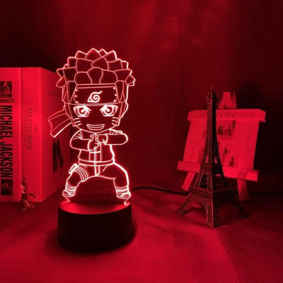 Lampe Naruto 3D Rouge