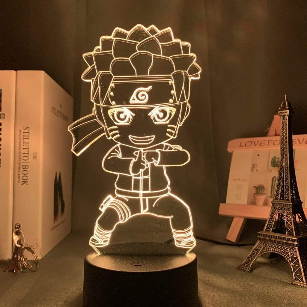 Lampe Naruto <br> Multi-Clonage