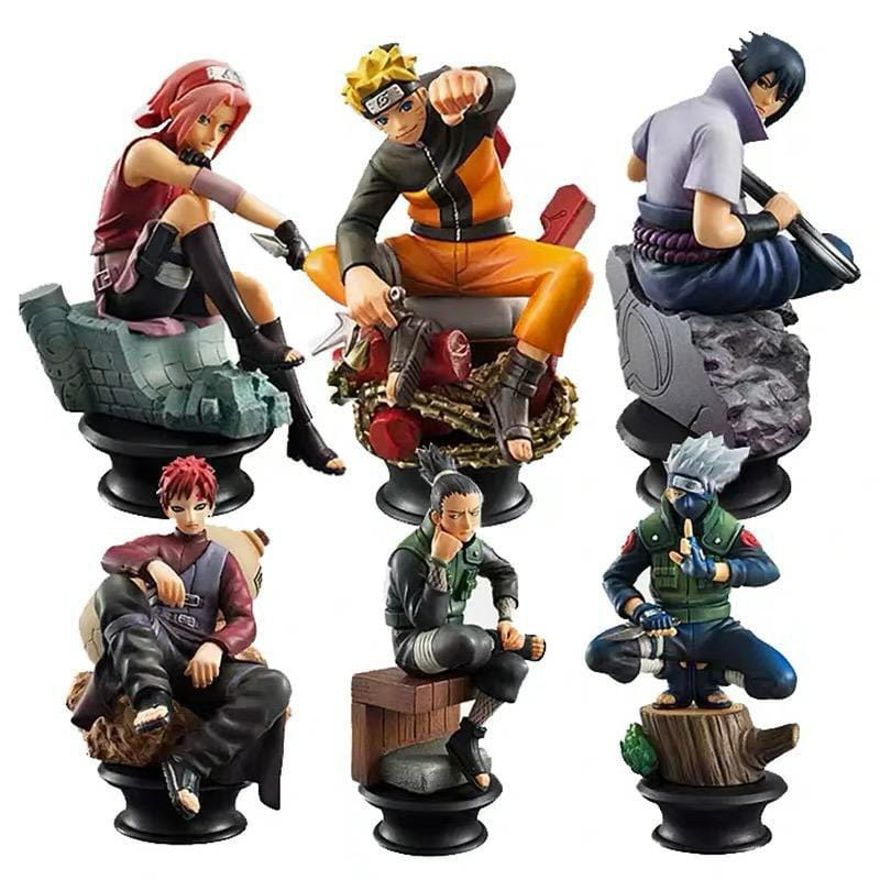 Figurine Naruto <br> Pack de Figurines
