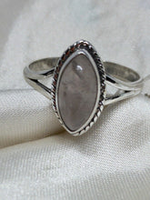 Load image into Gallery viewer, 💍STERLING SILVER 925 💍  Large Teardrop Handmade Ring w/Moonstone -R/H05