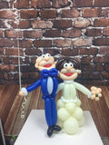 Bride & Groom Balloon Figure Set - WoW Balloons Direct
