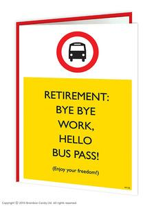 Goodbye work hello retirement card - WoW Balloons Direct