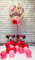 Minnie Mouse 1st Birthday Package - WoW Balloons Direct