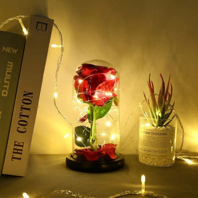 Eternal Flower With Glass Cover