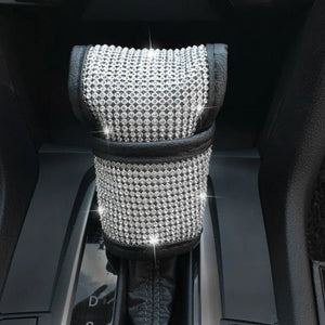 Crystal Car Steering Wheel Cover