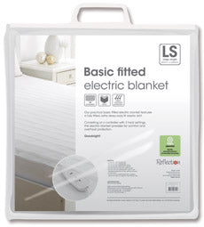 Basic Fitted Polyester Electric blanket (Large Single, Double & Queen)