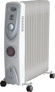 11 Fin Oil Heater with Timer