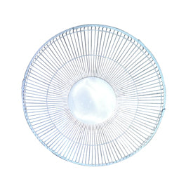 30cm Plastic Desk Fan - Front safety grill