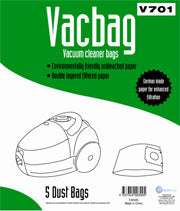 V701 Vacuum Cleaner Bag 5pk