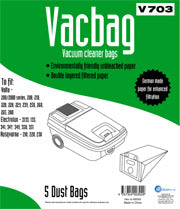 V703 Vacuum Cleaner Bag 5pk