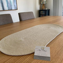 Load image into Gallery viewer, Long Cotton Rope Table Mat