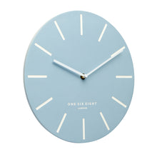 Load image into Gallery viewer, Chloe Pastel Blue 30cm Silent Wall Clock