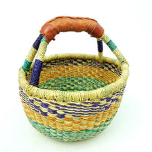 Load image into Gallery viewer, Bolga Basket - Colourful