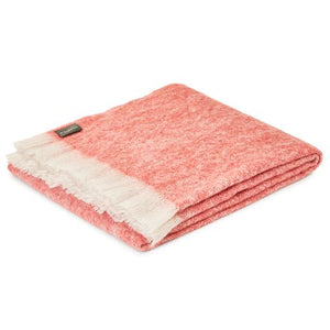 St Albans Mohair Redgum Throw