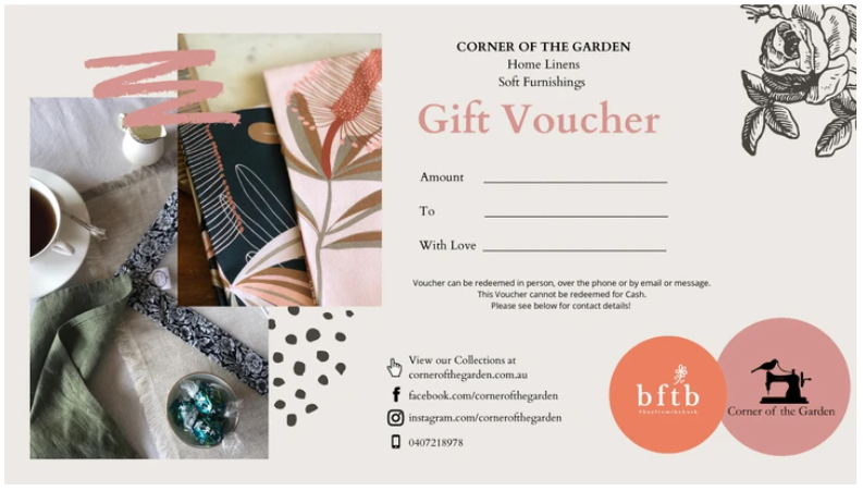Corner Of The Garden Gift Card