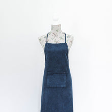 Load image into Gallery viewer, Stonewash Cotton Apron - Indigo