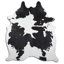 Load image into Gallery viewer, | LEWIS | - BLACK + WHITE COWHIDE RUG