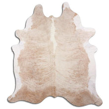 Load image into Gallery viewer, | SIA | - EXOTIC WHITE BELLY BACKBONE COWHIDE RUG