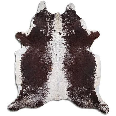 | USHER | - BROWN SPECKLE COWHIDE RUG