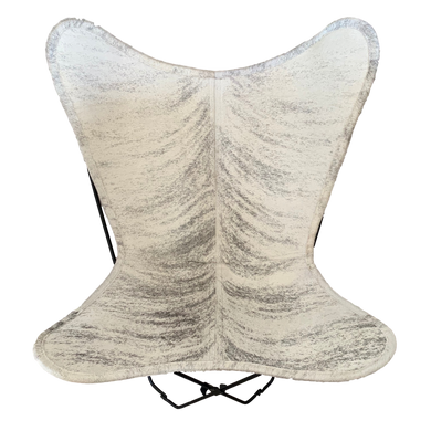 LIGHT BRINDLE COWHIDE BUTTERFLY CHAIR - Lux & Hide