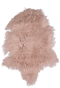 MONGOLIAN SHEEPSKIN | BLUSH PINK