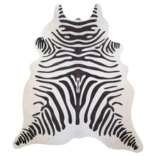 Load image into Gallery viewer, | SPOT | - ZEBRA PRINT COWHIDE RUG - Lux & Hide