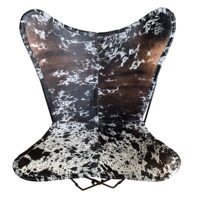 SPECKLE COWHIDE BUTTERFLY CHAIR