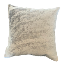 Load image into Gallery viewer, COWHIDE CUSHION | LIGHT GREY BRINDLE - Lux & Hide