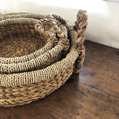Shallow Bungalow Storage Basket